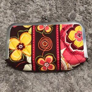 Vera Bradley snap wallet